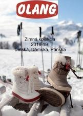 Zimná kolekcia 2018-19 Detská, Dámska, Pánska